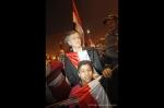 BHL sur la place Tahrir