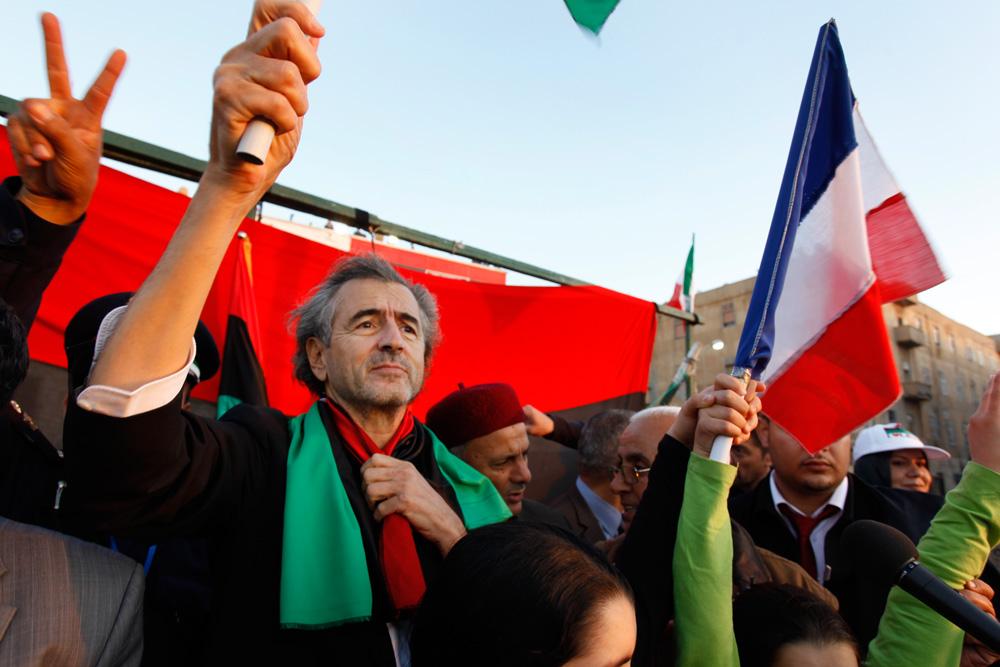 Bernard Henri Levy in Tahrir & Benghazi | AnarchitexT